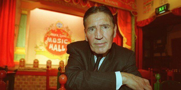 'mad' Frankie Fraser, Former East End Gangster, At the launch of his one-man show, at the Brick Lane...