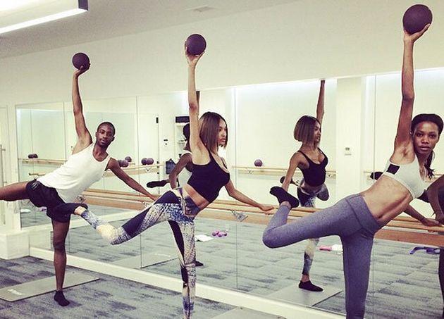 Jourdan Dunn's Victoria's Secret Angel Workout: Tried And