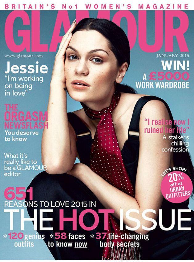 Jessie J Talks Love, LA And Success In Glamour Magazine's January