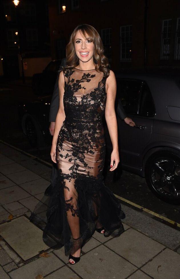 Katie Piper Foundation Charity Night in London. Featuring: Alex Jones Where: London, United Kingdom When:...