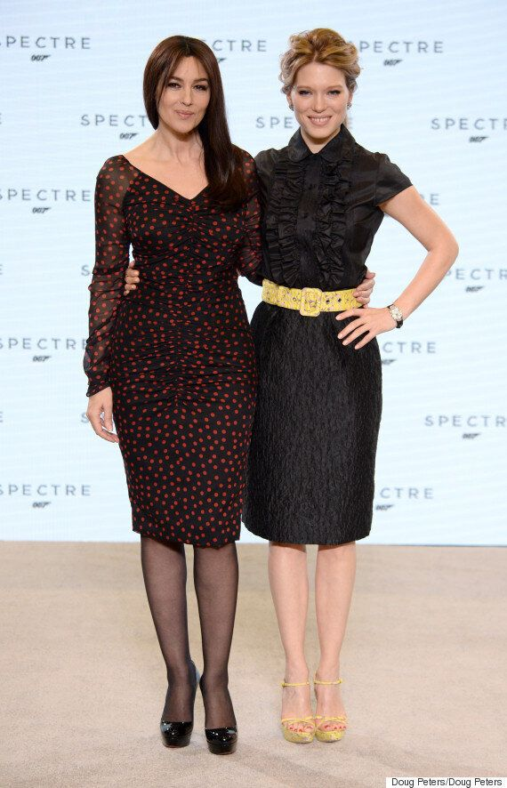 'Spectre': Bond Women Monica Bellucci And Léa Seydoux Introduced In New Vlog (Yes, Women NOT