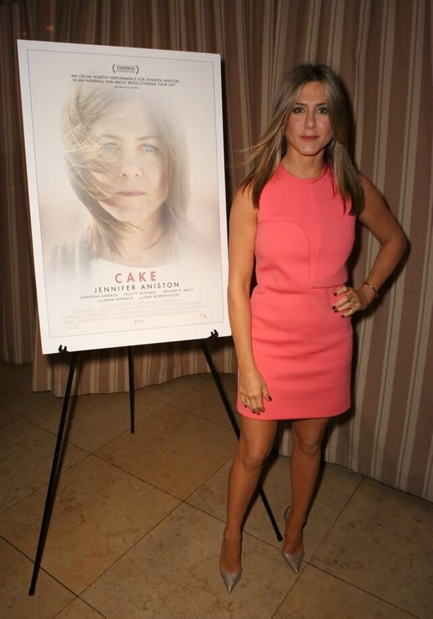 attend a cocktail party with Jennifer Aniston following a special screening of CAKE at Sunset Tower on...