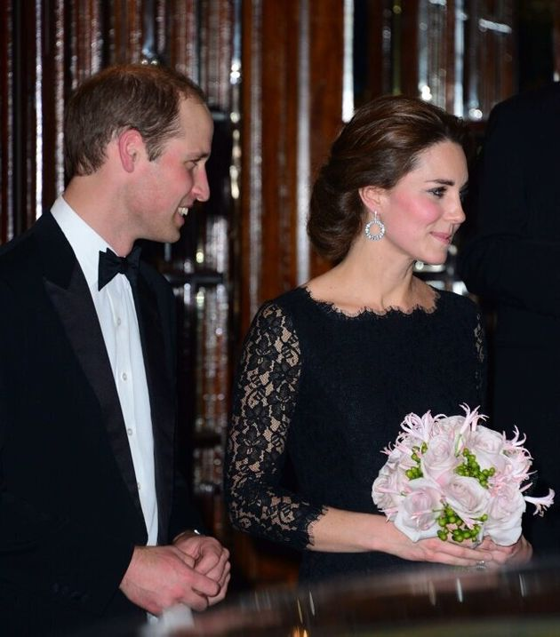 Mandatory Credit: Photo by Nils Jorgensen/REX (4244070n) Prince William and Catherine Duchess of Cambridge...