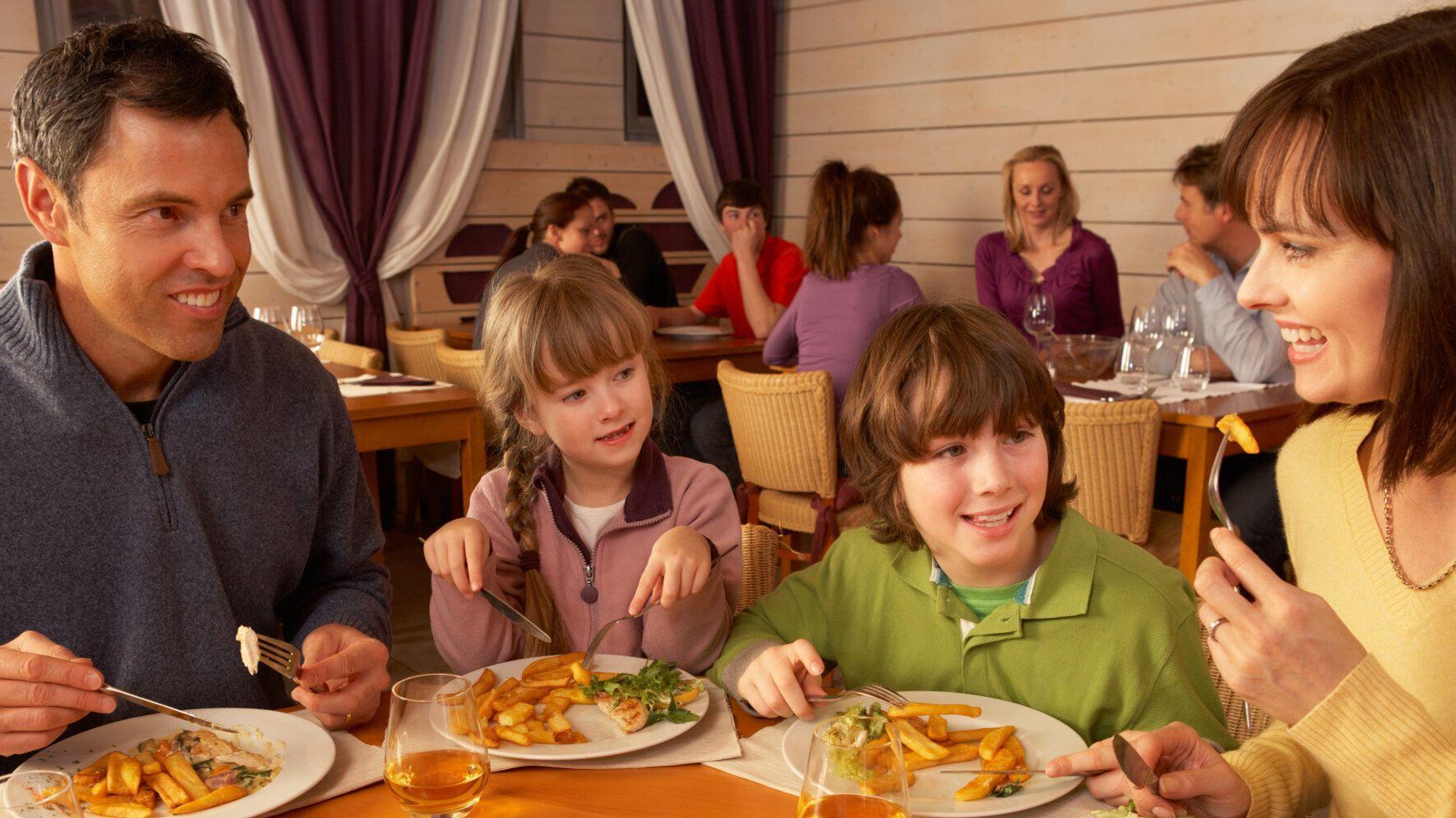 Occupy Children In Restaurants Without