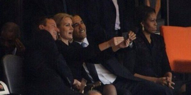 David Cameron 'Muscled His Way In' To Selfie With