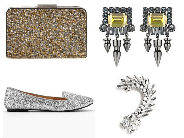 Christmas Party Style: Outrageously Sparkly Accessories To Complete Your
