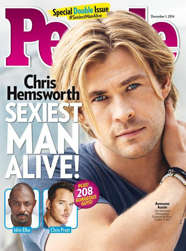 Chris Hemsworth Is Officially The Sexiest Man