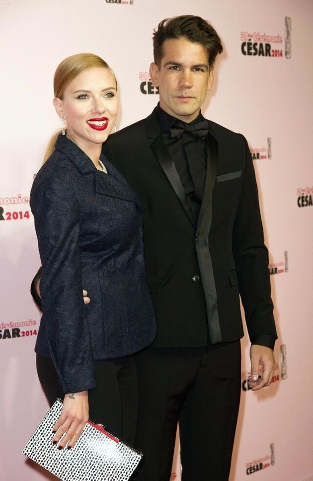 Mandatory Credit: Photo by PDN/VILLARD/SIPA/REX (3612825o) Scarlett Johansson and Romain Dauriac 39th...