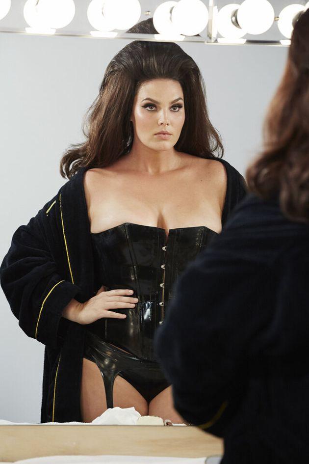Plus-Size Model Candice Huffine Stars In Pirelli's 2015