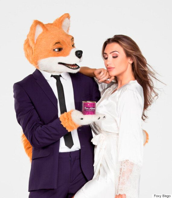 Lauren Goodger And Jake McLean's Foxy Bingo Body Paint Photo-Shoot Just Might Be Her Most Ridiculous...