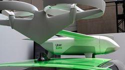 Uber va tester la livraison de repas par drone dès cet été aux