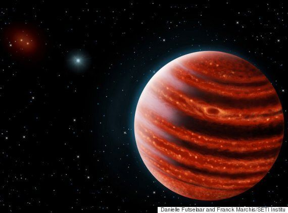 Young Jupiter-like 'Alien' Planet Discovered By