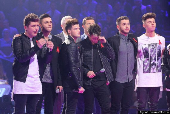Stereo Kicks Left In Tears After They Lose Out In The 'X Factor' Sing-Off To Lauren Platt