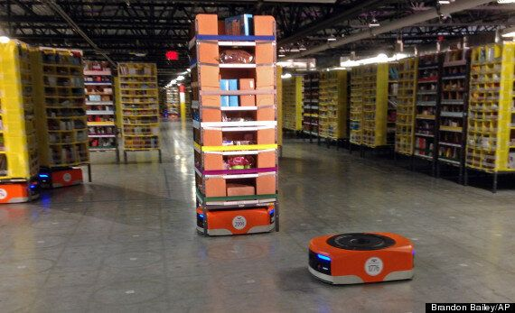 Amazon Has Started Filling Its Warehouses With Worker