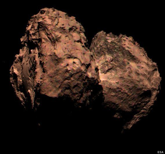 First True-Colour Image Of Comet