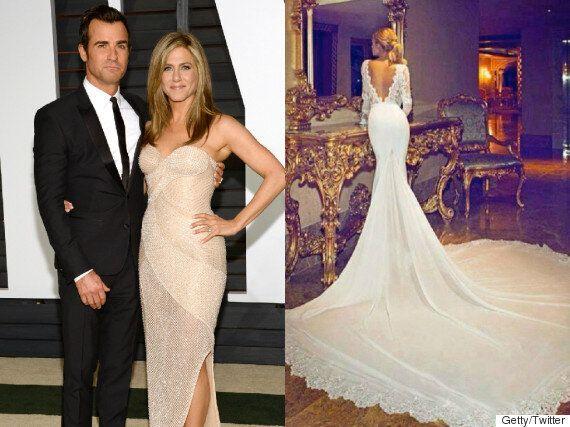Jennifer Aniston Wedding Dress Photo Revealed To Be