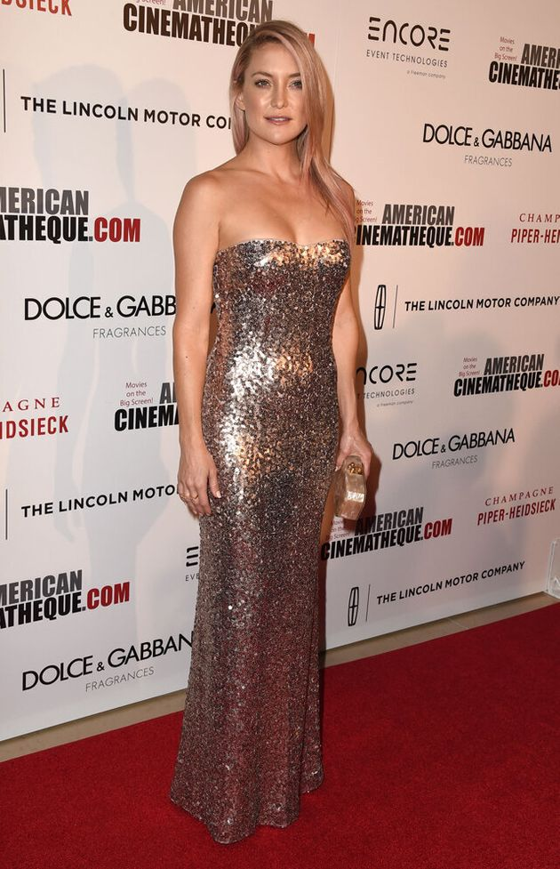 Kate Hudson Honours Matthew McConaughey In Sequin