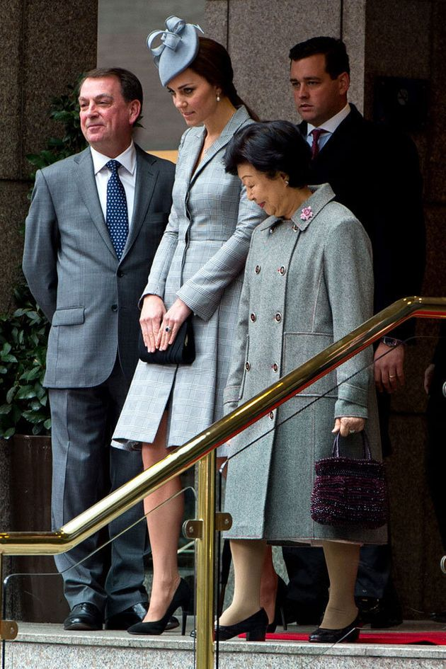 Pregnant Kate Middleton Makes First Public Appearance Since Announcing Royal Baby