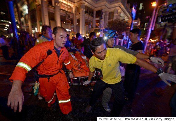 Bangkok Bombing: Footage Of Rush Hour Explosion That Killed