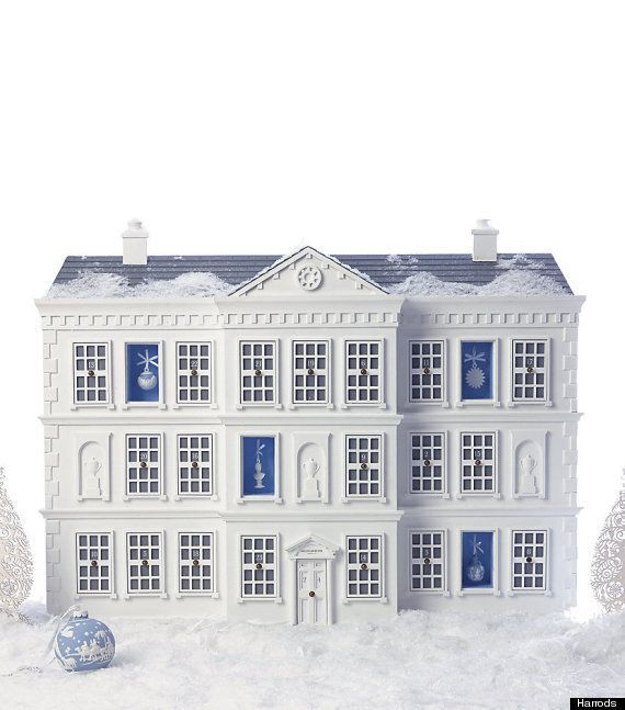 Christmas Advent Calendar From Harrods Is Slashed From £12K