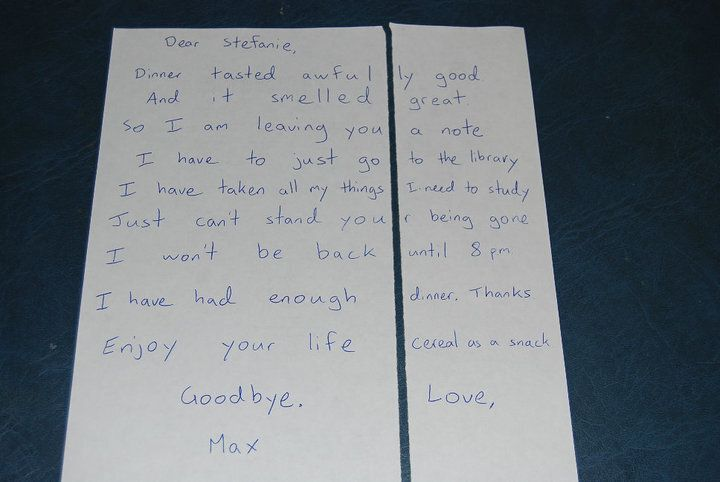 Man's Mean Dinner Note To His Wife Is Only Half The Story | HuffPost
