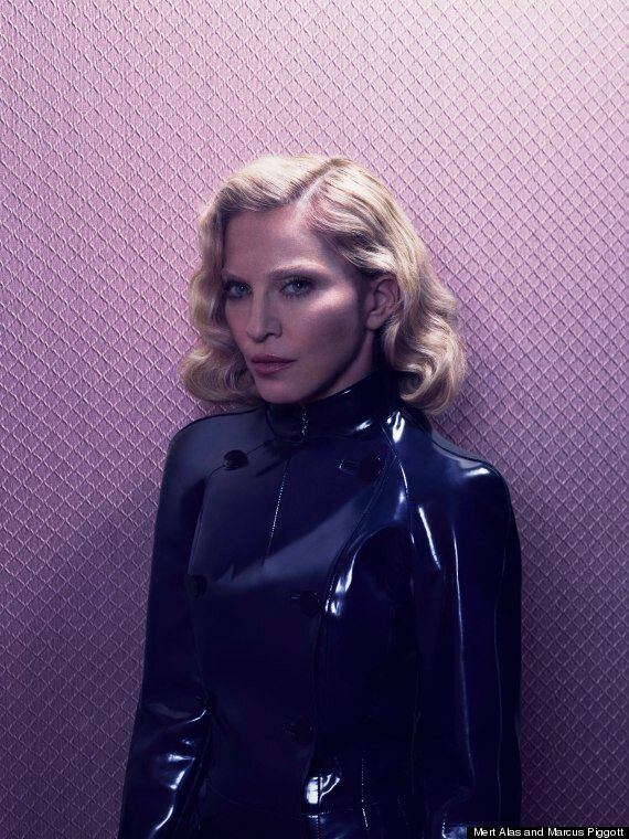 Madonna Goes Topless In New Photo-Shoot, Discusses How Drug Use Influenced Songs On Her Album (NSFW