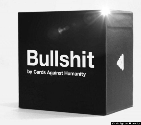 Cards Against Humanity Sells Boxes Of Actual Bullsh*t In Protest Against Black
