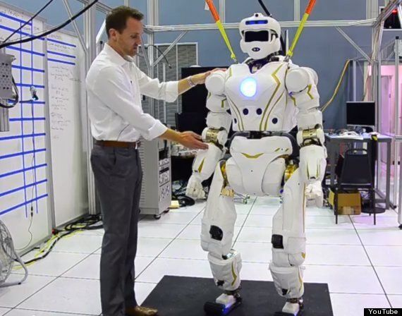 Google's Boston Dynamics Takes Its Humanoid Robot For A Jog In The