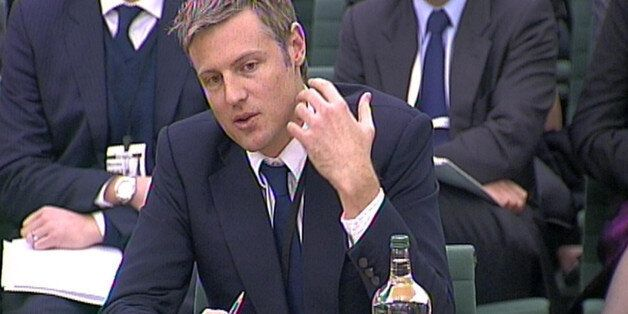 Conservative MP Zac Goldsmith gives evidence to the Joint Committee on Privacy and Injunctions at Portcullis...