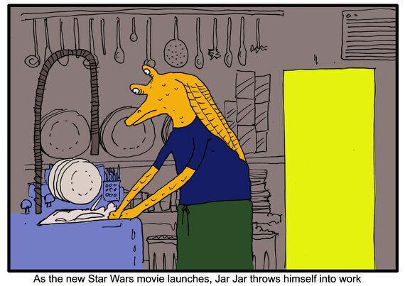 I Wonder What Jar Jar Binks is Doing Right