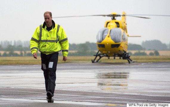 Prince William Airlifted Man Whose Death Is Now A Murder Investigation, Involving Ex-Fashion
