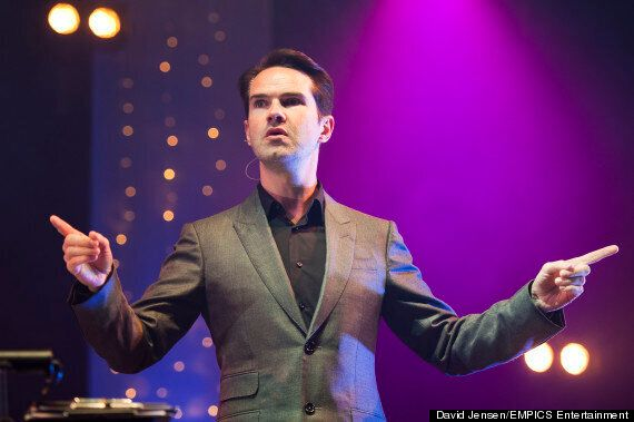 Jimmy Carr Treats Audience To £4000 Worth Of Drinks After He's Forced To Delay Live
