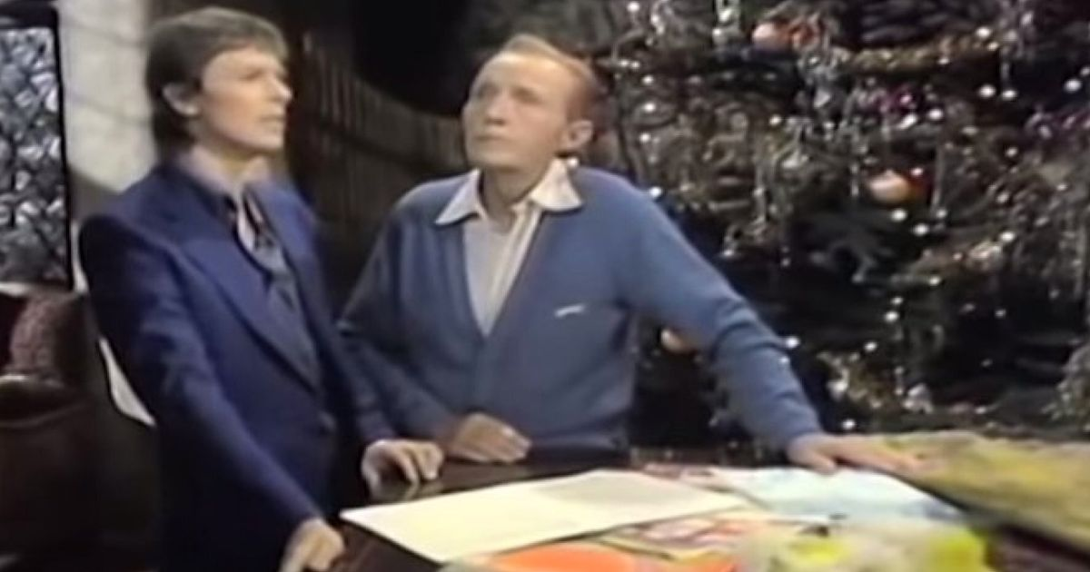Bing Crosby And David Bowie's 'Little Drummer Boy' Without The Music Is Very Funny (And Rather ...