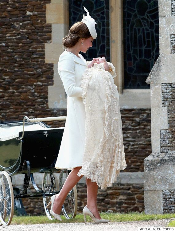 Princess Diana Photoshopped Into Charlotte Christening Picture With Kate