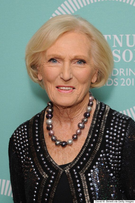 'Great British Bake Off': Mary Berry Lets Slip Who Leaves ...