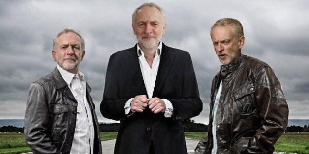 Jeremy Corbyn pictured by the @sexyjezzacorbyn Twitter