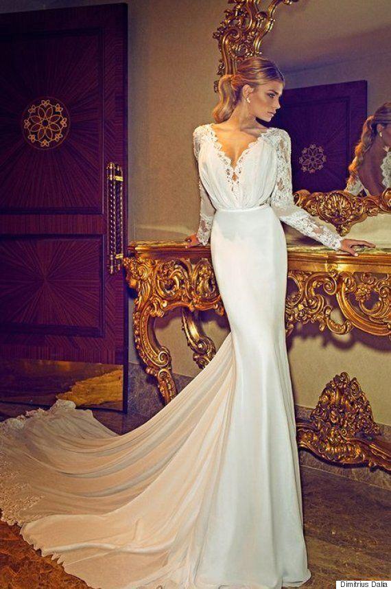 Viral Jennifer Aniston Wedding Dress Designed By Dimitrius