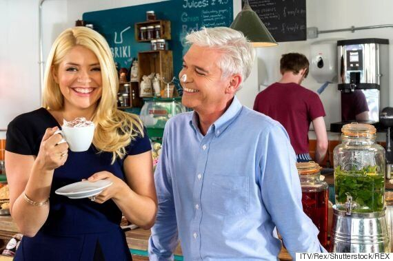 Holly Willoughby Joins 'This Morning' Co-Host Phillip Schofield And Ant And Dec On Holiday
