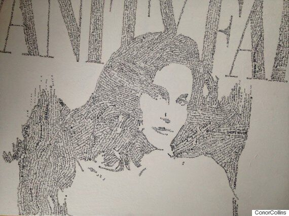 Caitlyn Jenner's Vanity Fair Image Created By Artist Conor Collins From Thousands Of Twitter Death