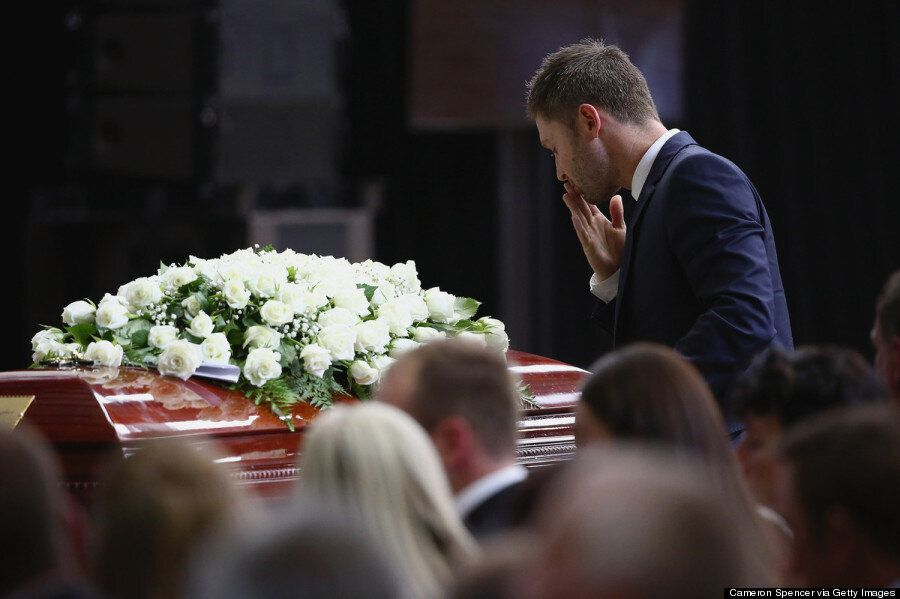 Phil Hughes Funeral: Australia Cricket Captain Michael Clarke Breaks Down In Moving Eulogy For