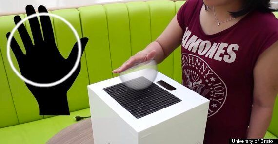 University Researchers Create 'Ghost' Object Using