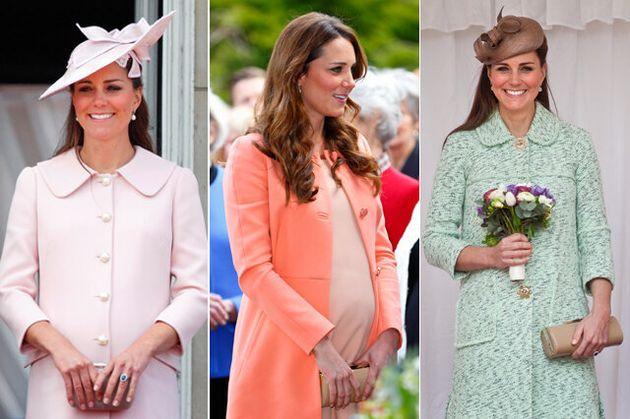 Kate Middleton's Pregnancy Style In
