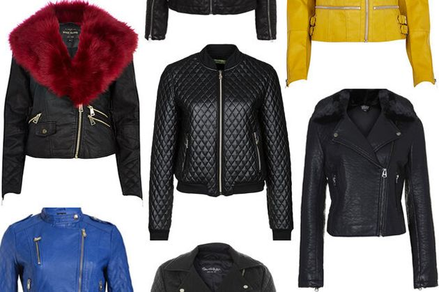 Leather Jackets: 13 Faux Styles For Autumn/Winter