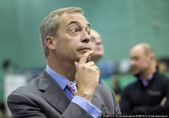 Nigel Farage Claims He's Poor Despite Household Income Of £100,000 (And A
