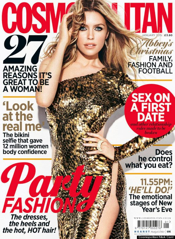 Abbey Clancy Sparkles In Party-Themed Photo-Shoot, Discusses The Modelling World And Her Career