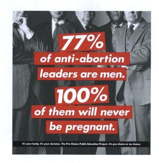 Pregnant Woman Sticks It To Anti-Abortion