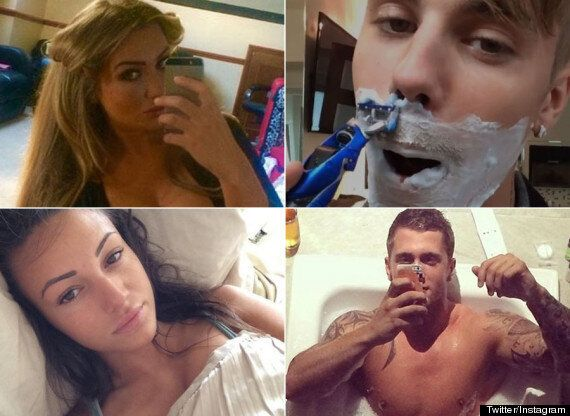 Best Selfies Of 2014: Featuring Dan Osborne Naked In The Bath And Ellen Degeneres' Oscars Snap