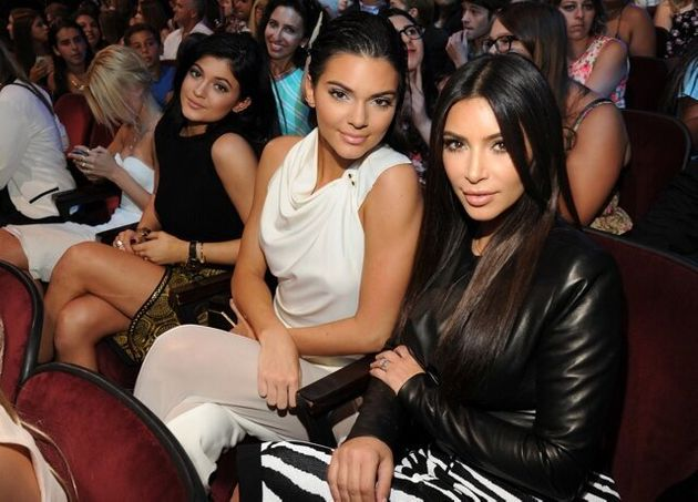 Kim Kardashian Kendall And Kylie Jenner Party Together At