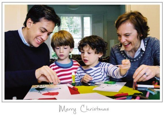 Polticians Christmas Cards Released As Party Leaders Get Festive. Kind