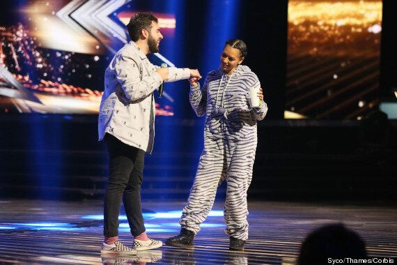 'X Factor' Stars Fleur East And Andrea Faustini To Tackle Christmas Songs For Semi-Final